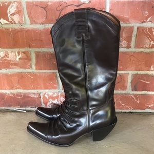 Rare Donald J. Plunger western Couture boots